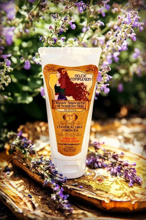 organic sunscreen for sensitive skin spf 32