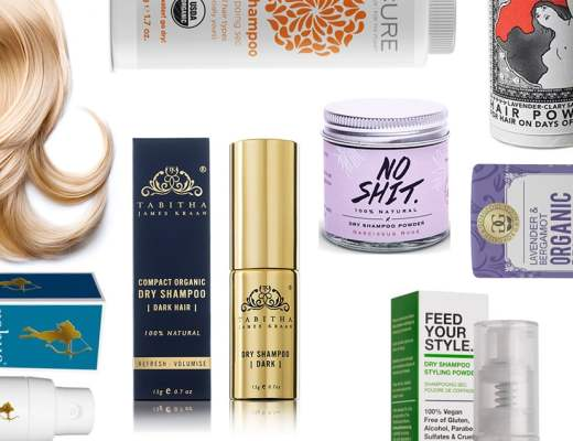 Here's my top pick of the best natural dry shampoos.