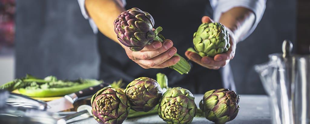 Learn how to prepare artichokes properly.