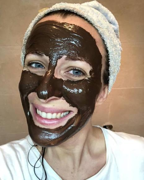 maschera cioccolato - 5 MASCHERE viso per la PELLE MISTA fai da te