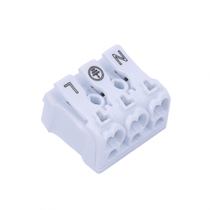 3 Way Push Wire Connector