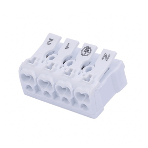 4 Way Push Wire Connector