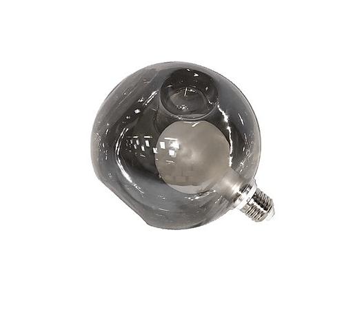 Round LED filament bulb