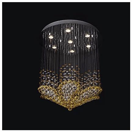 Flower chandelier light