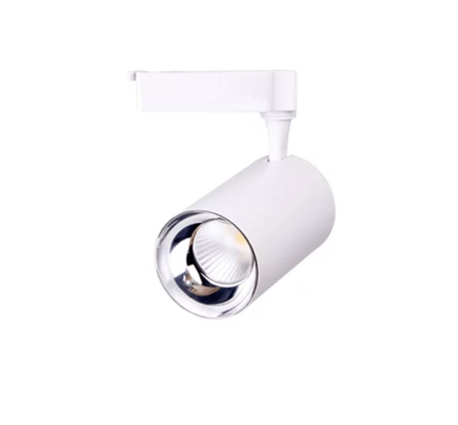 Track lighting for showroom and retail unit lighting