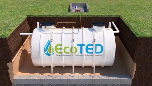 EcoTED - A Estação Compacta de Tratamento de Esgoto Doméstico da EcoCasa