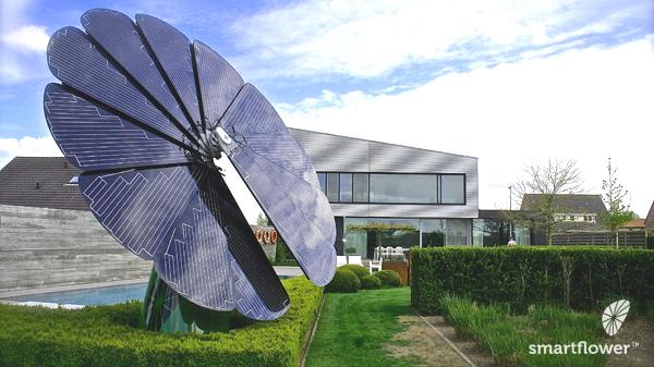 La SmartFlower : source d'énergie photovoltaïque