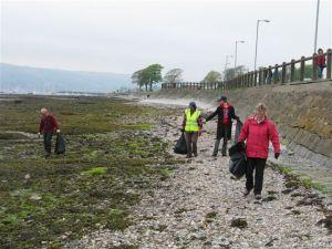 Helensburgh Beach Clean (2)