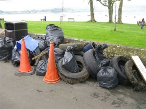 Helensburgh Beach Clean (3)