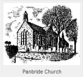 Panbride Church Sketch