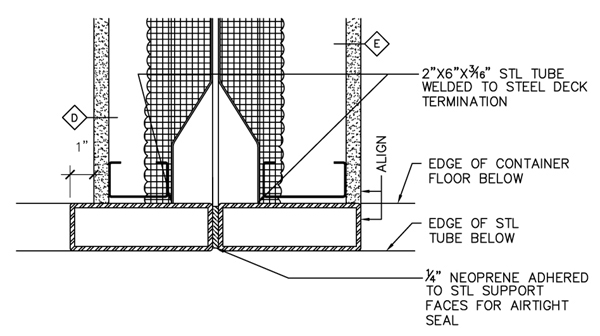Shipping Container Homes Typical Plan Section Details