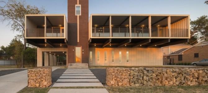 PV14 Container House, Dallas, TX, USA