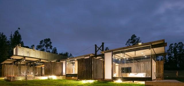 RDP House. Shipping Container Home, Pichincha, Ecuador