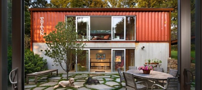 15 Iconic Residential Eco Shipping Container Homes…