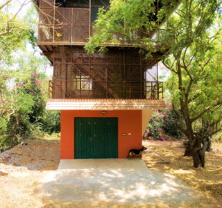 The Shipping Container & Timber Beach House, Srima, Auroville