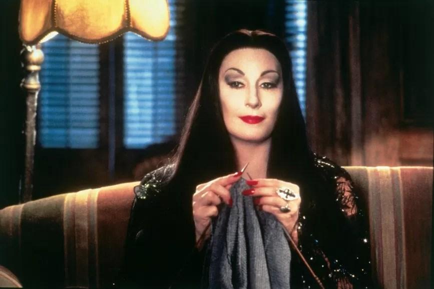 Anjelica Huston Famiglia Addams