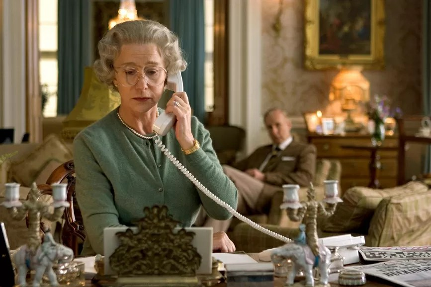 Helen Mirren The Queen scena film