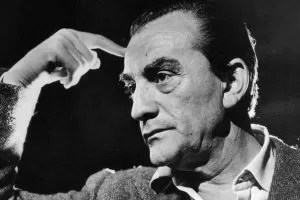 Luchino Visconti b/n