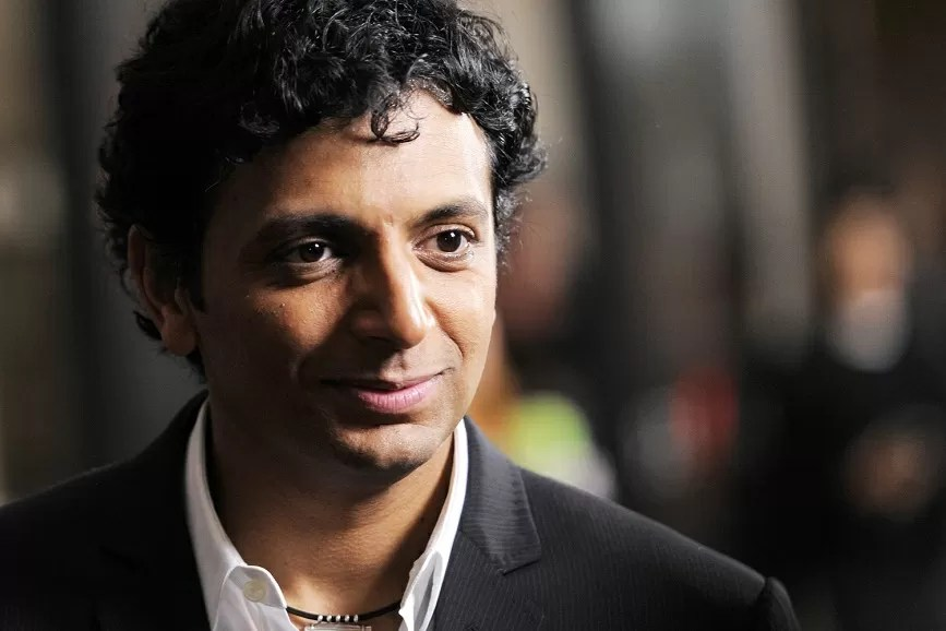 M. Night Shyamalan sul red carpet