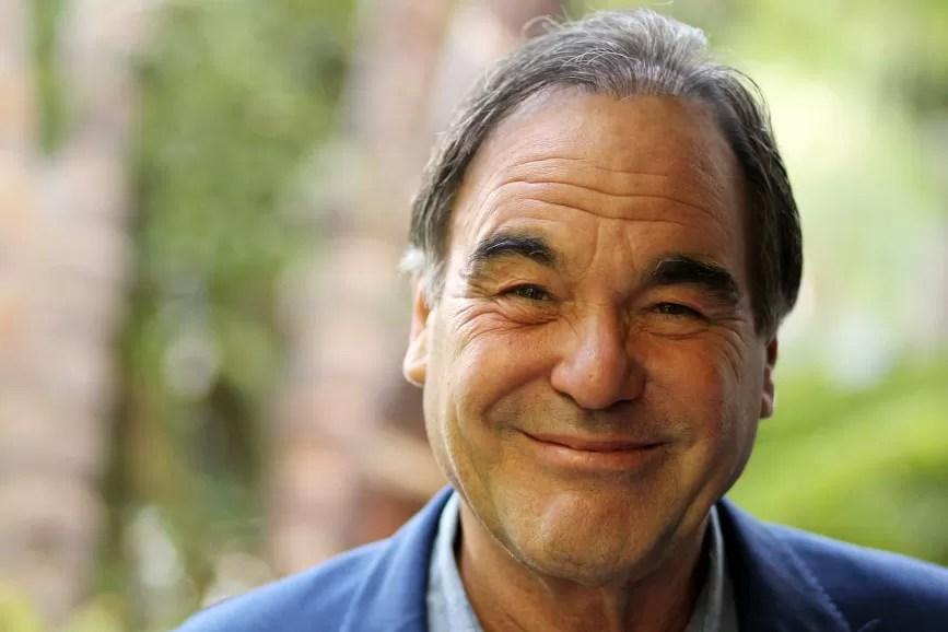 Oliver Stone press conference
