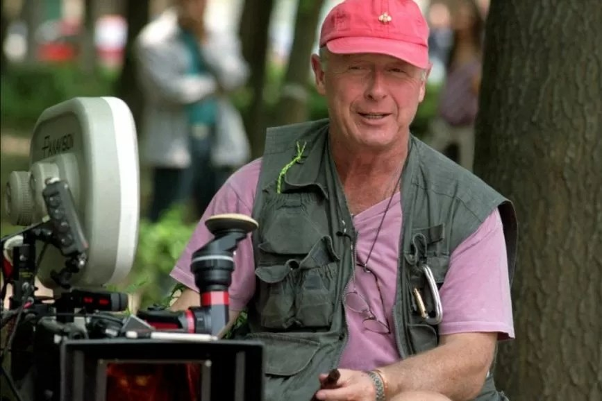 Tony Scott sul set