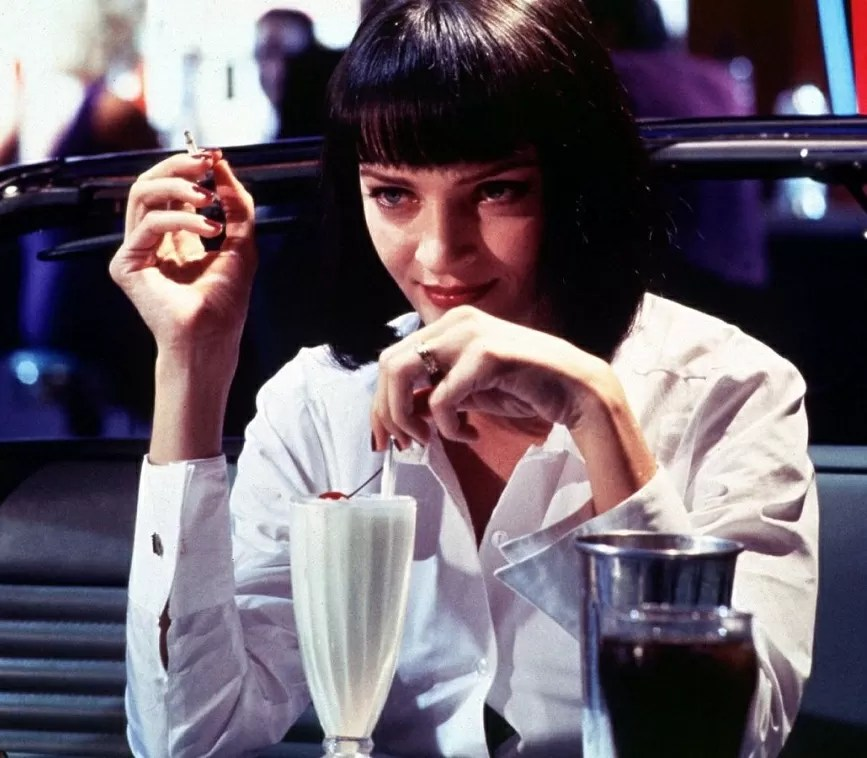 Uma Thruman in Pulp Fiction