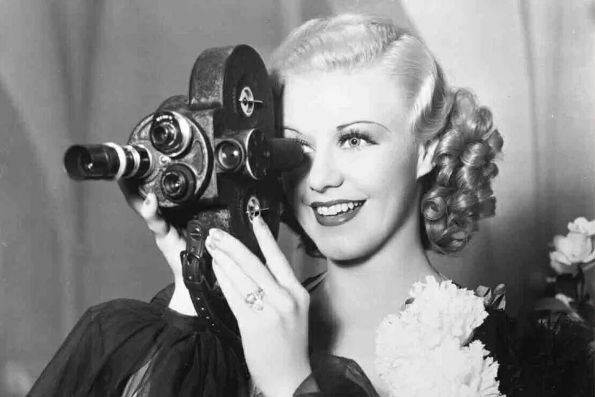 Ginger Rogers cinepresa
