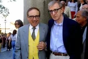 Oreste Lionello con Woody Allen