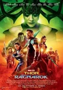 Thor: Ragnarok locandina
