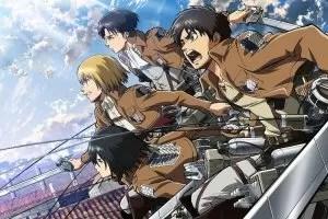 """Attack on Titan"", i protagonisti del manga e anime"