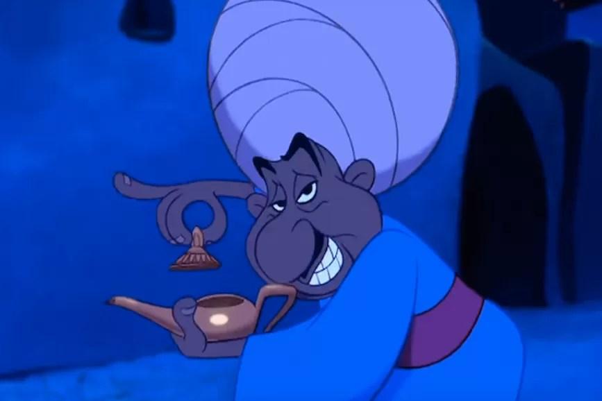 La lampada di aladino storia cartoni animati