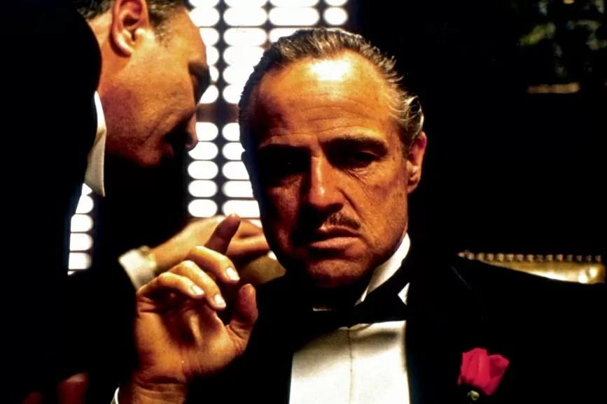 Marlon Brando ne Il Padrino Francis Ford Coppola