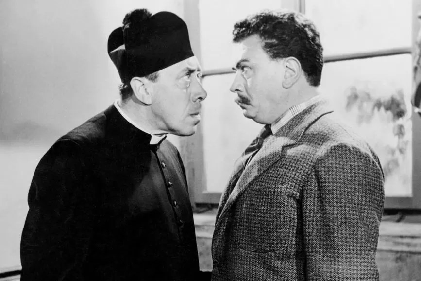 Fernandel e Gino Cervi