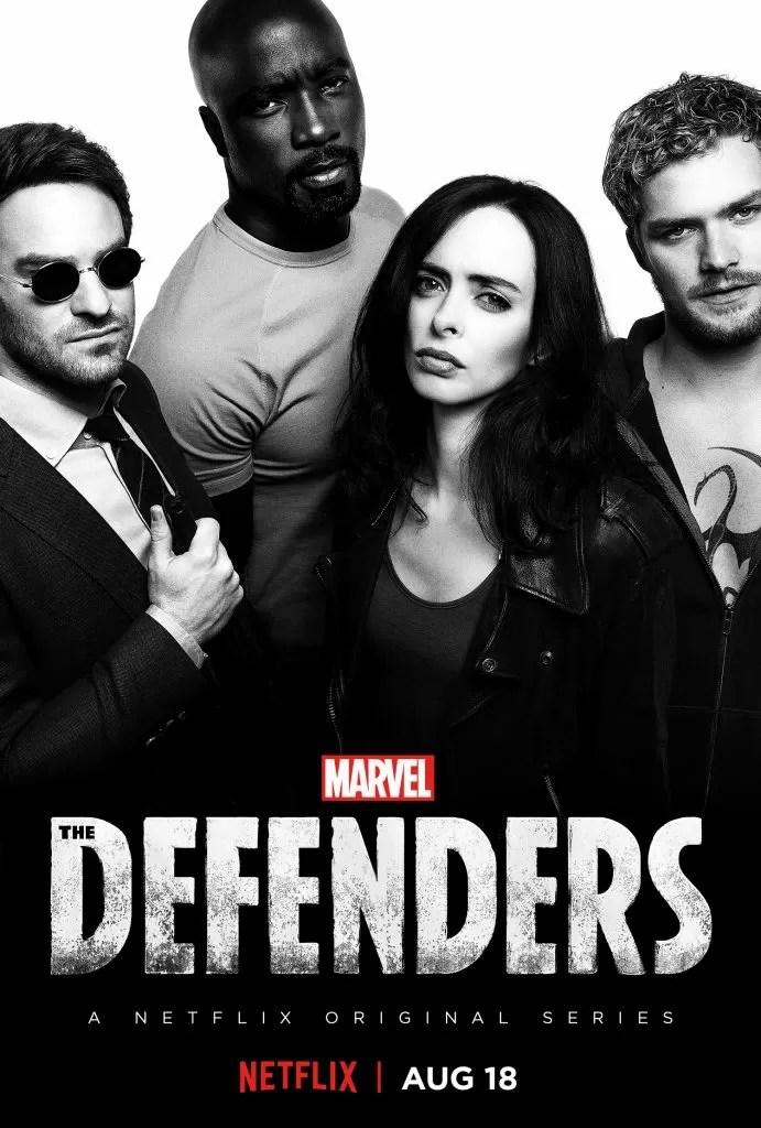 """The Defenders"" locandina"