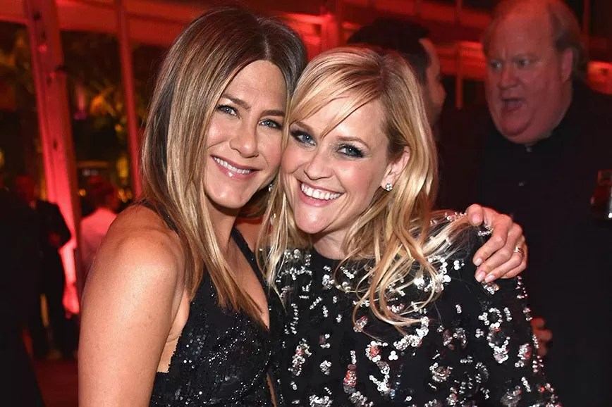 Jennifer Aniston con Reese Witherspoon