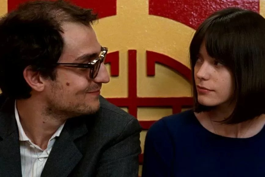 Il mio Godard, Louis Garrel e Stacy Martin