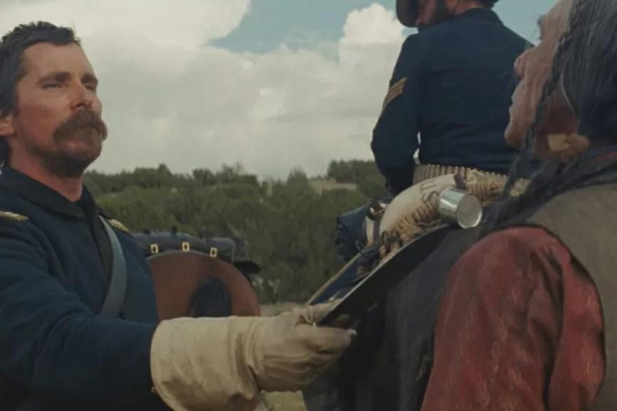 Hostiles scena Christian Bale Festa del Cinema di Roma 2017