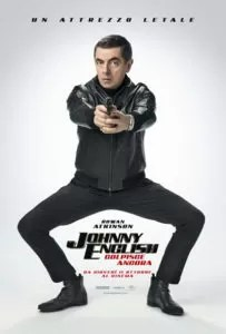 Johnny English colpisce ancora poster ita