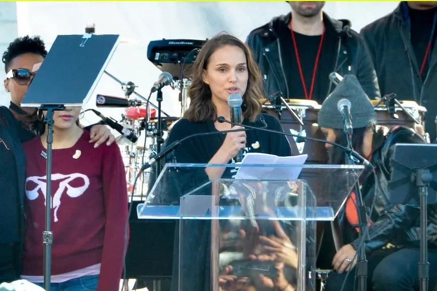 Natalie Portman discorso