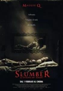 Slumber - Il demone del sonno locandina ita
