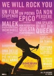 Bohemian Rhapsody locandina ufficiale
