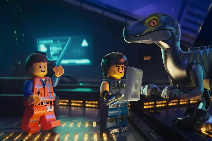 The Lego Movie 2 scena film