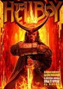 Hellboy poster ita