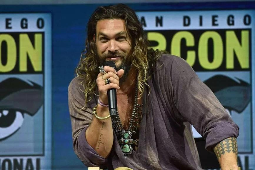 Aquaman il film - Jason Momoa