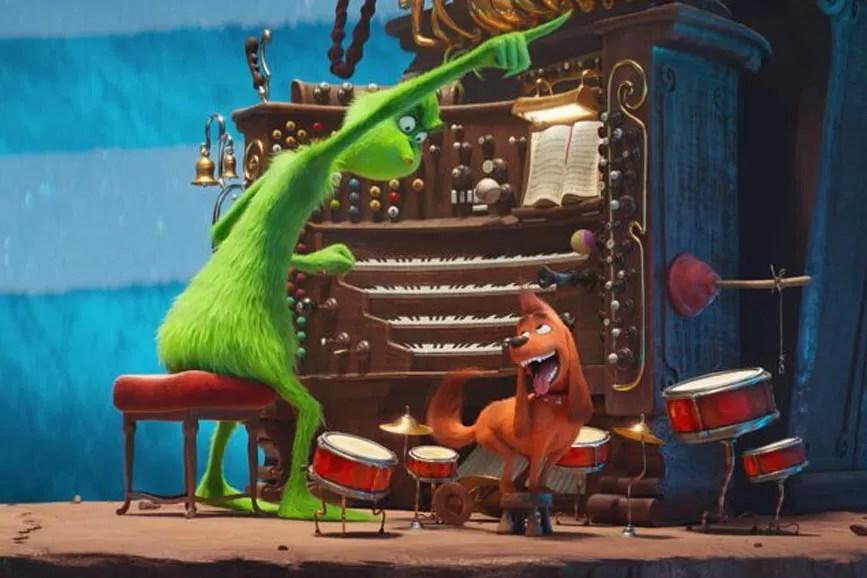 Il Grinch immagine di una scena