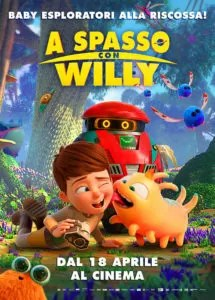 A spasso con Willy Poster