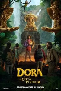 Dora e la città perduta poster