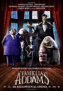 Locandina Famiglia Addams
