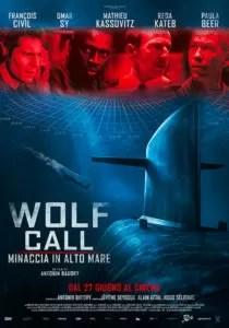 Wolf Call – Minaccia in alto mare poster ita