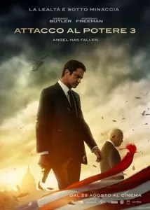 Attacco al potere 3 - Angel Has Fallen poster ita